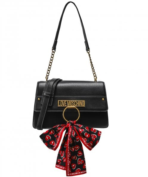 Moschino Love Moschino Scarf Detail Shoulder Bag