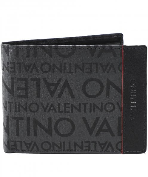Valentino by Mario Valentino Faux Leather Byron Coin ID Wallet