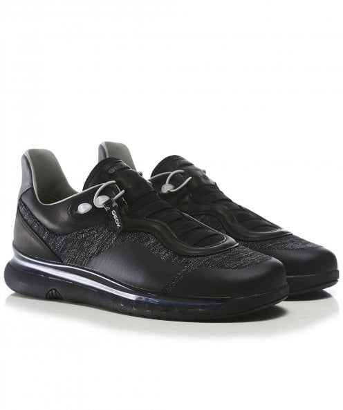 Geox Leather Mix Levita Trainers