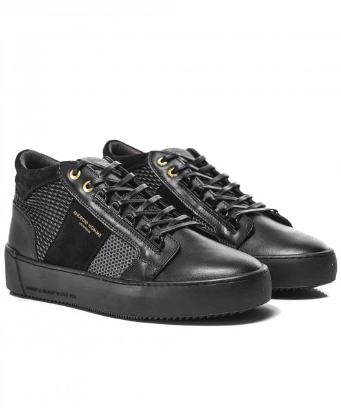 Android Homme Woven Propulsion Mid Geo Trainers