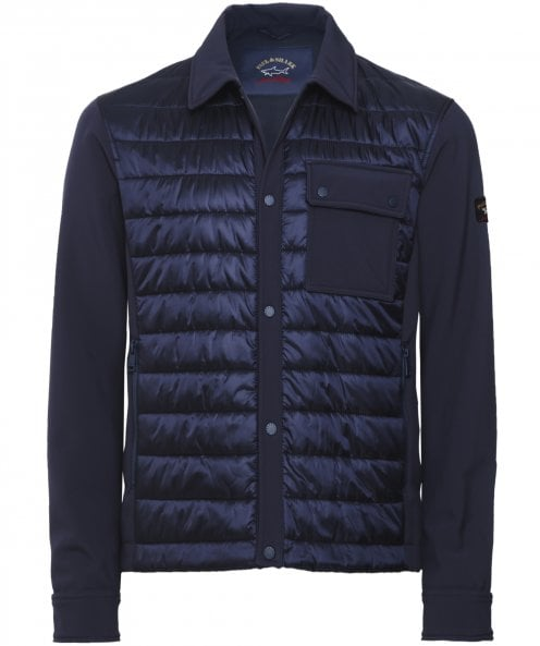 Paul and Shark Quilted Overshirt