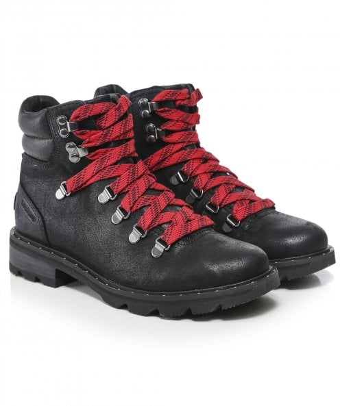 Sorel Lennox Leather Hiker Boots