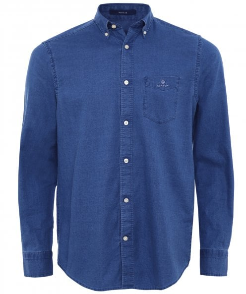 GANT Regular Fit Royal Oxford Shirt