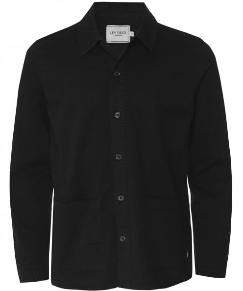 Les Deux Cotton Twill Pascal Overshirt