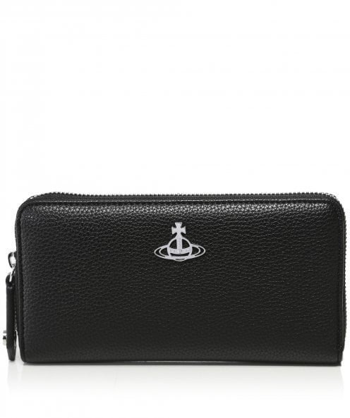 Vivienne Westwood Accessories Johanna Zip Around Wallet