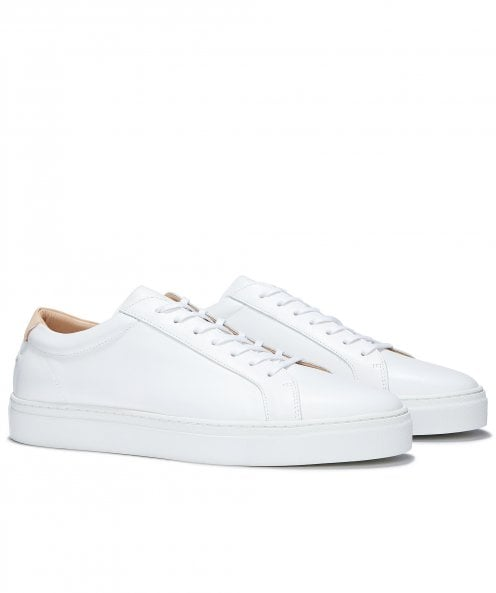 Uniform Standard Series 1 Original White Leather Trainers