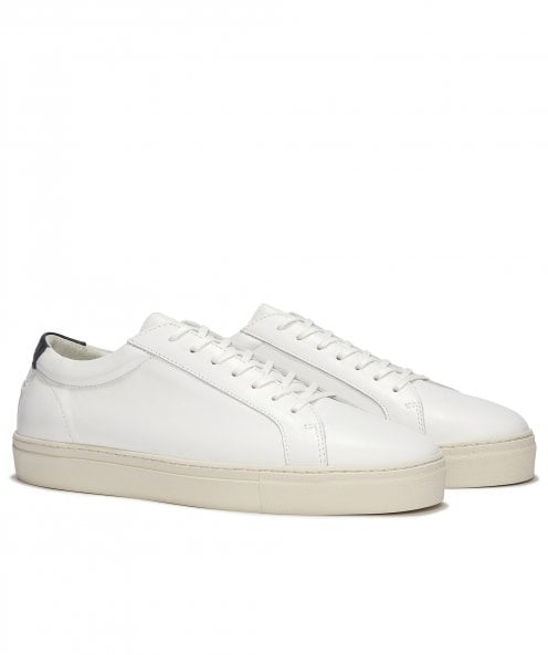 Uniform Standard Series 1 Vintage White Leather Trainers
