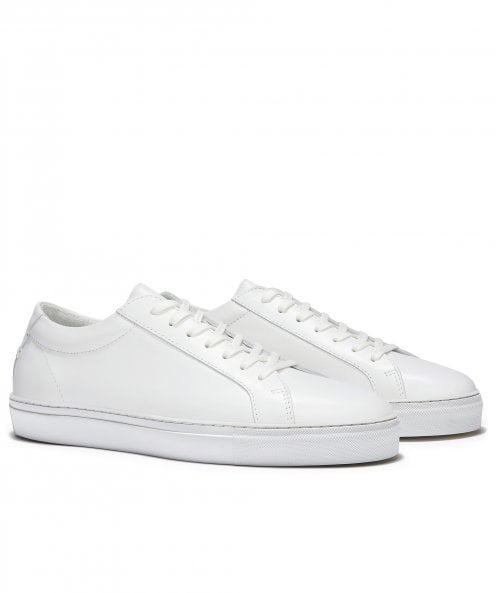 Uniform Standard Series 1 Triple White Leather Trainers