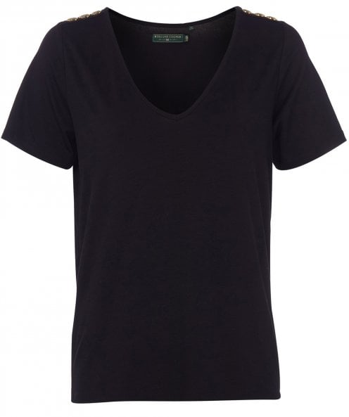 Holland Cooper Relax Fit V-Neck T-Shirt