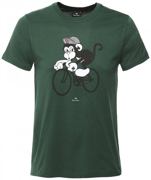 Paul Smith Slim Fit Cycling Monkey T-Shirt