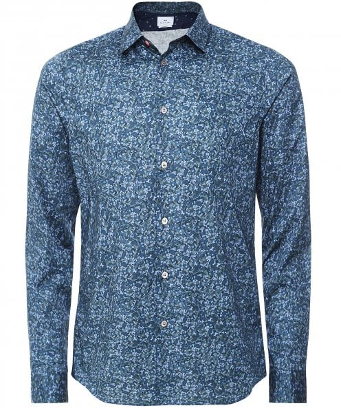 Paul Smith Slim Fit Floral Shirt