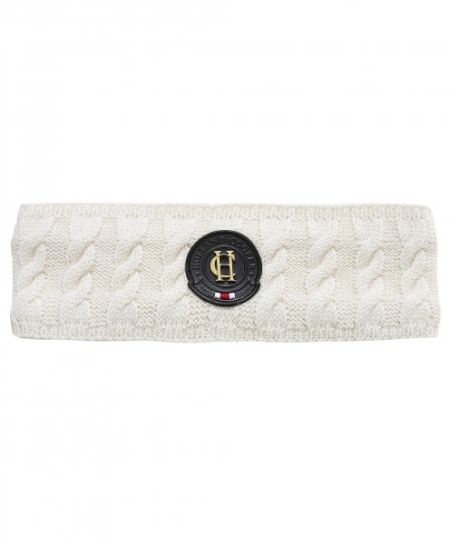 Holland Cooper Luxe Cable Knit Headband