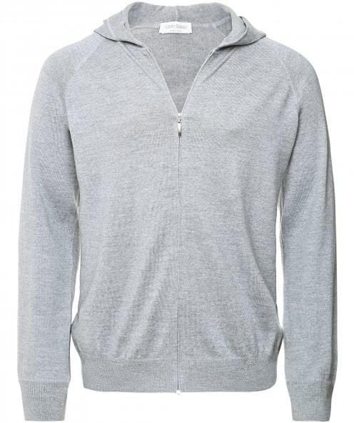 Gran Sasso Virgin Wool Zip-Through Hoodie