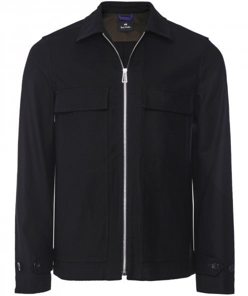 Paul Smith Zip-Through Cotton Jacket