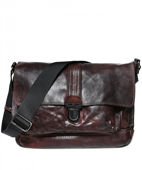 Campomaggi Leather Crossbody Satchel