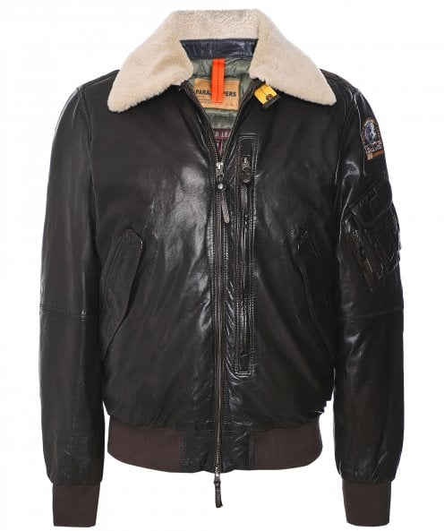 Parajumpers Waxed Leather Josh Jacket