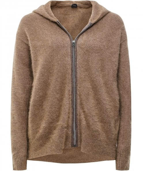 CT Plage Cosy Hooded Zip Cardigan