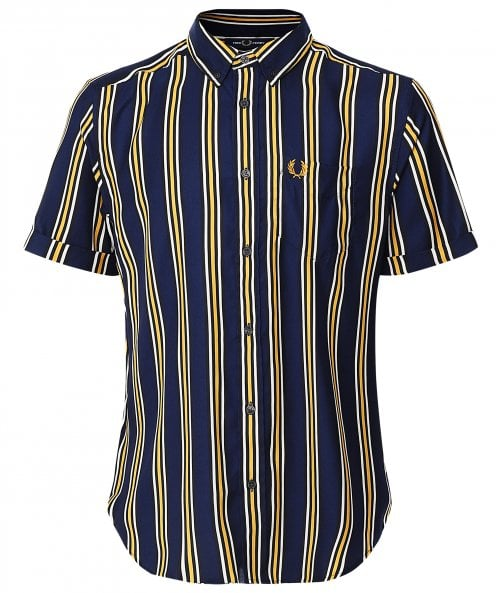 Fred Perry Vertical Stripe Shirt M9550
