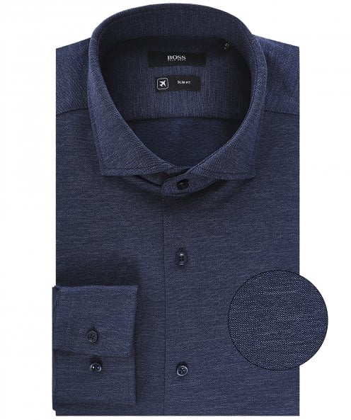 BOSS Slim Fit Melange Jason Shirt