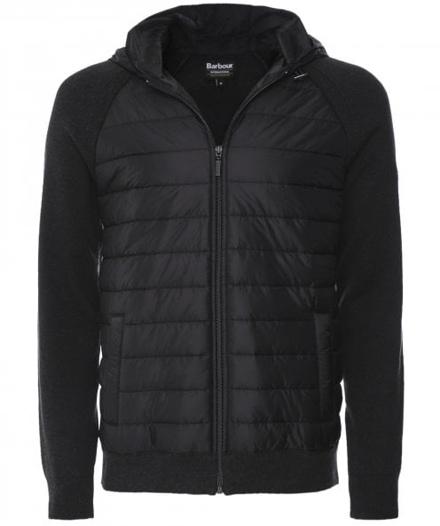 Barbour International Baffle Quilted Albie Hoodie