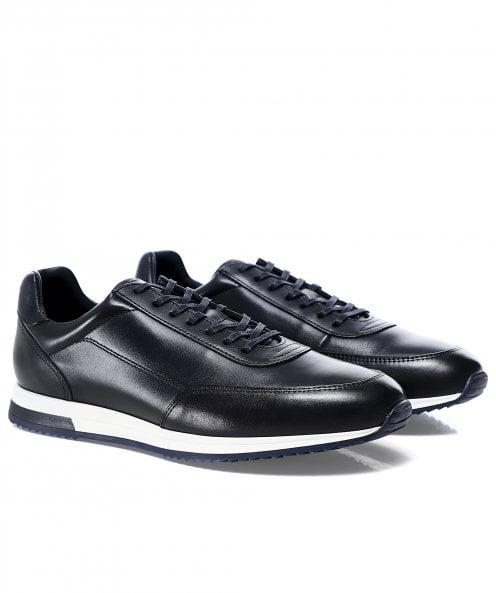 Loake Leather Bannister Trainers