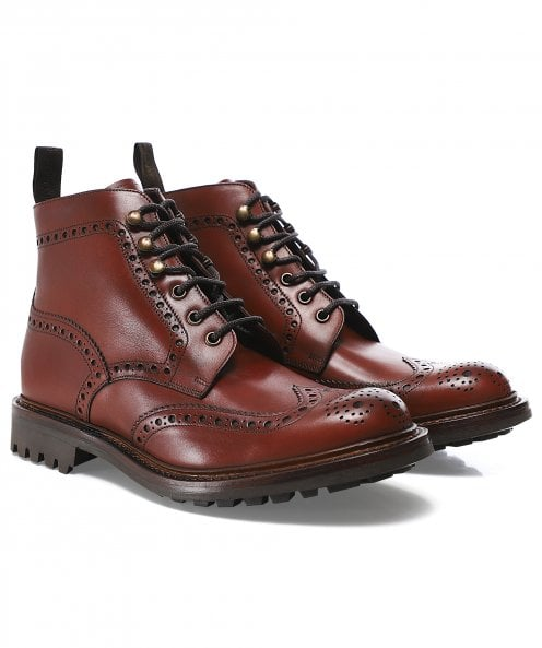 Loake Leather Glendale Boots