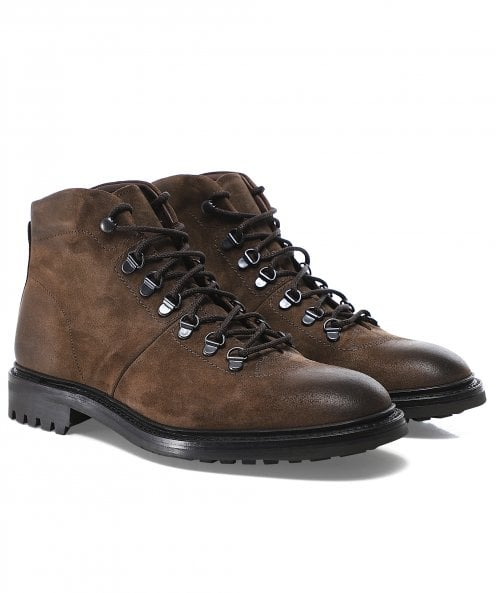 Loake Suede Hiker Boots