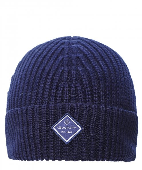 GANT Cotton Rib Knit Beanie