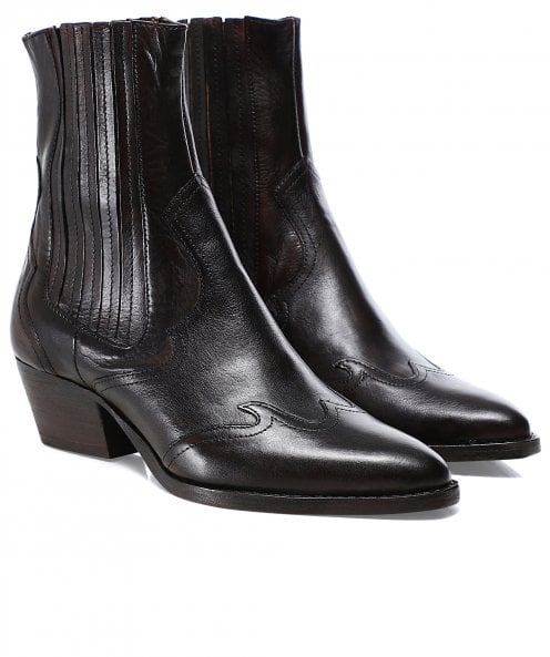 Hudson London Sienna Leather Chelsea Boots