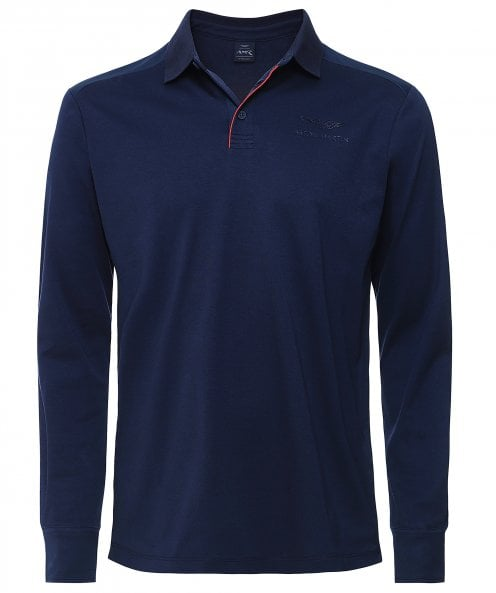 Hackett AMR Contrast Trim Polo Shirt