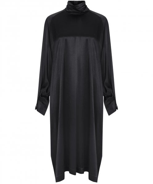 NU Long Sleeve Satin Dress