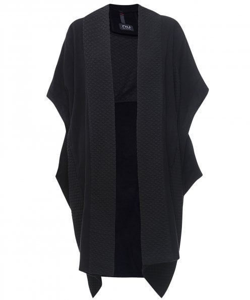 NU Oversized Panelled Cardigan