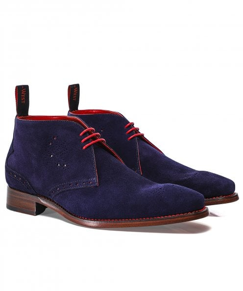 Jeffery-West Suede Hunt Hunger Chukka Boots
