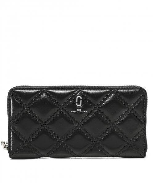 Marc Jacobs The Quilted Softshot Standard Continental Wallet