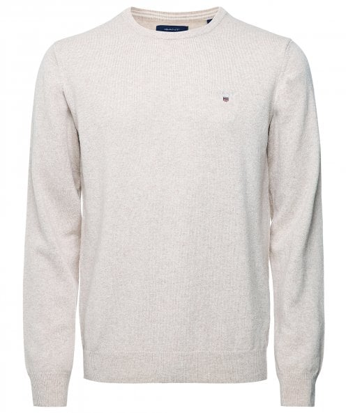 GANT Superfine Lambswool Crew Neck Jumper