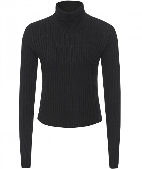 NU Turtleneck Rib Knit Jumper