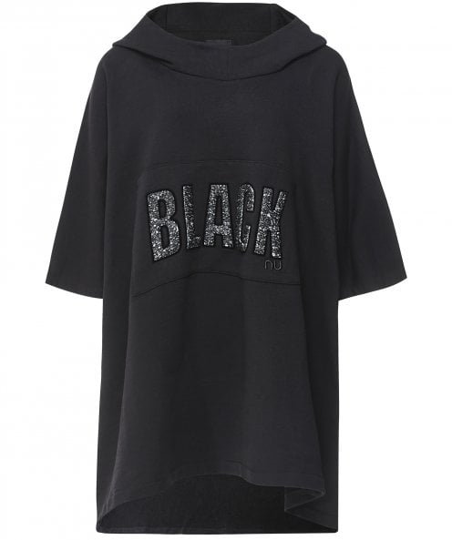 NU Black Oversized Top
