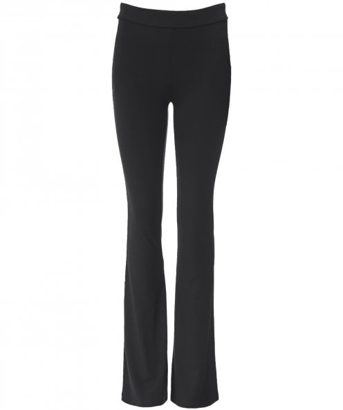 NU London Flared Jersey Trousers