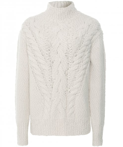 Vince Rising Cable Turtleneck Jumper