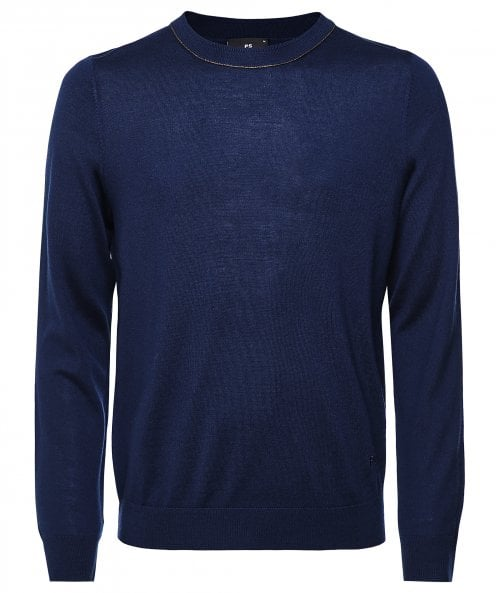 Paul Smith Merino Wool Crew Neck Jumper