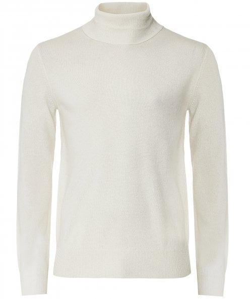 Hartford Wool Cashmere Roll Neck Jumper