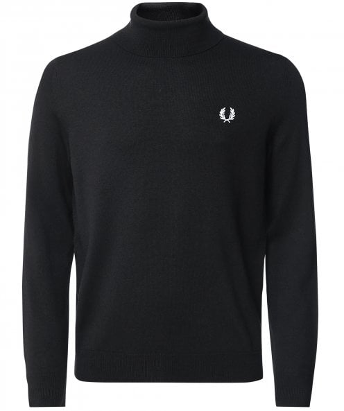 Fred Perry Wool Cotton Roll Neck Jumper K9552 102