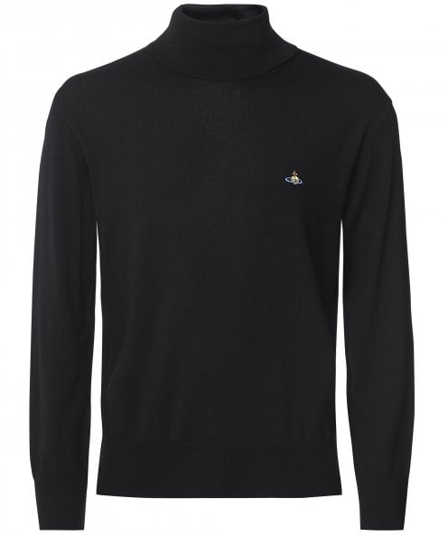 Vivienne Westwood Man Virgin Wool High Neck Jumper