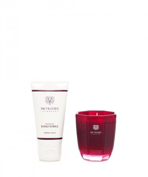 Dr. Vranjes Firenze Rosso Nobile Candle and Hand Cream Gift Set