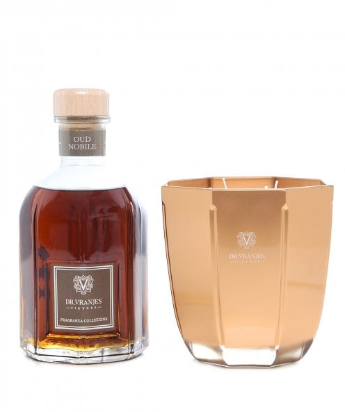 Dr. Vranjes Firenze Oud Nobile 500ml Diffuser and Candle Gift Set