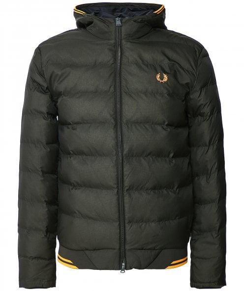 Fred Perry Hooded Insulated Jacket J9535