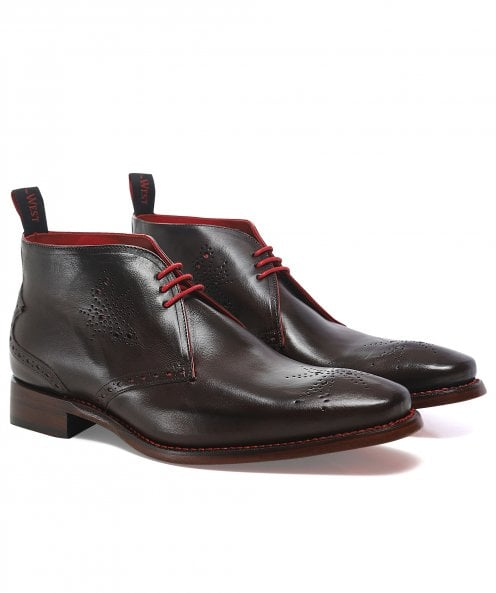 Jeffery-West Leather Hunt Hunger Chukka Boots