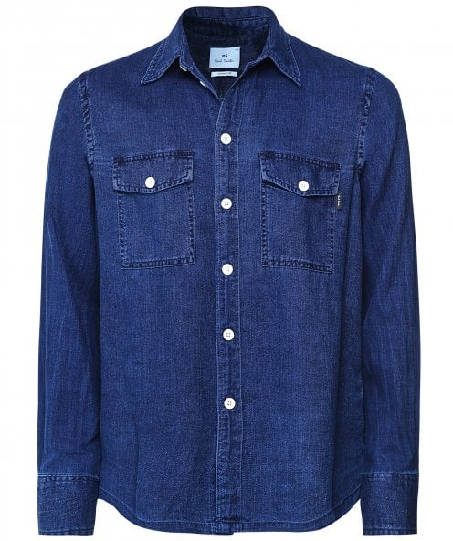 Paul Smith Casual Fit Denim Shirt
