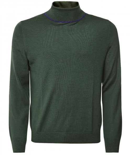 Paul Smith Merino Wool Roll Neck Jumper