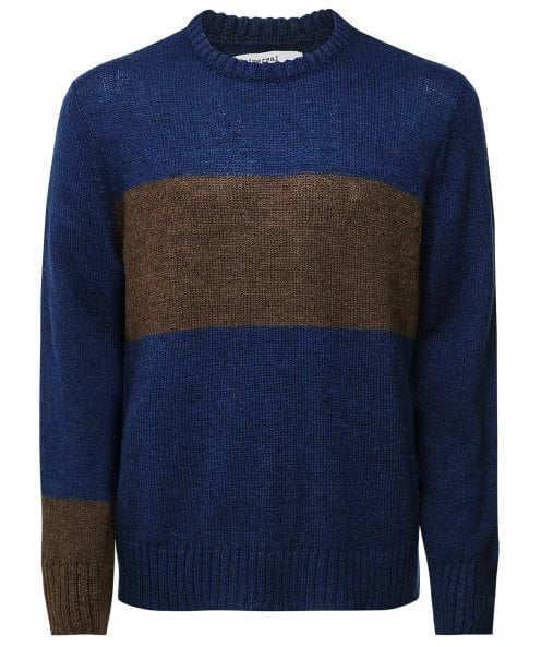 Universal Works Mohair Blend Striped Jumper